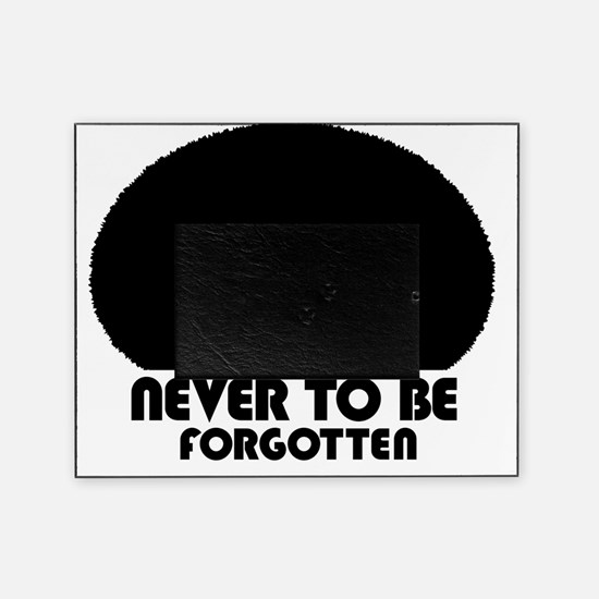 afro_forgotten_white_shirt Picture Frame