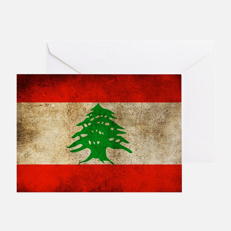 Liban Greeting Card