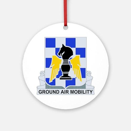 DUI - 82nd Aviation Regiment Round Ornament