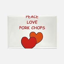 pork,chop Magnets