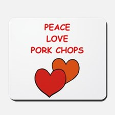 pork,chop Mousepad