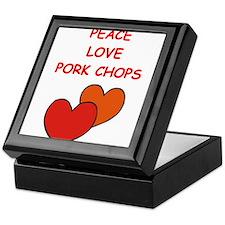 pork,chop Keepsake Box