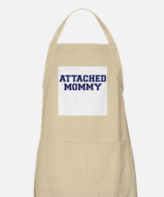 Attached Mommy Collegiate BBQ Apron