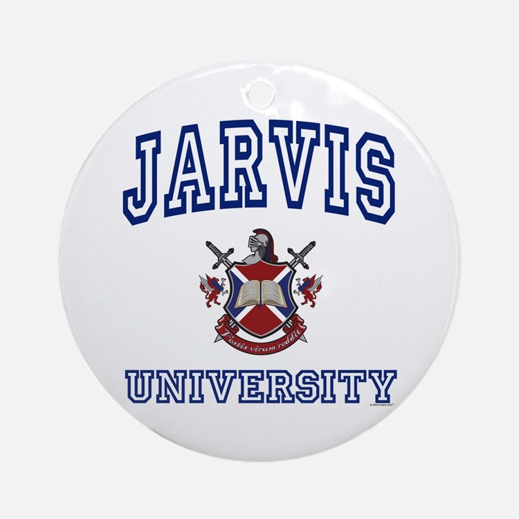 JARVIS University Ornament (Round)