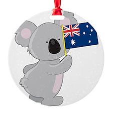koala australian flag Ornament
