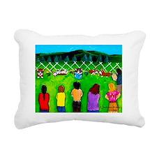 Long-Downs Rectangular Canvas Pillow