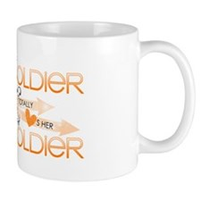 This Soldier Totally Loves Her  Soldier Mug