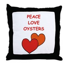 oyster Throw Pillow