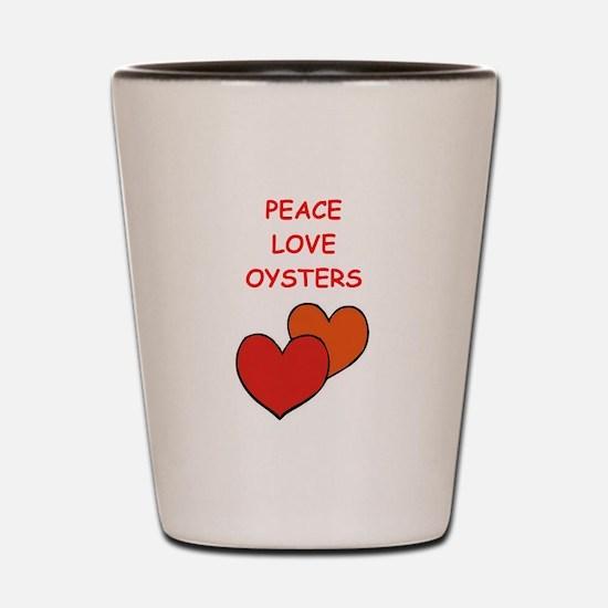 oyster Shot Glass