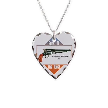 Remington 44-4 Necklace Heart Charm