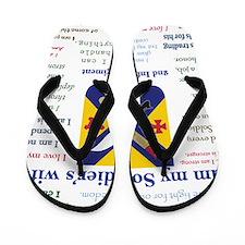 IAmSoldiersWife Flip Flops