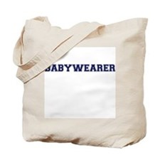 Babywearer Collegiate Tote Bag