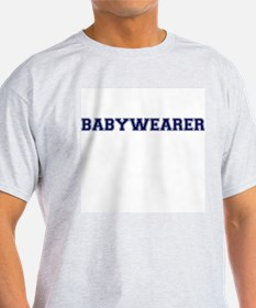 Babywearer Collegiate Ash Grey T-Shirt