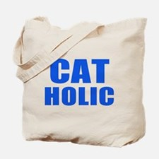 Cat Holic Tote Bag