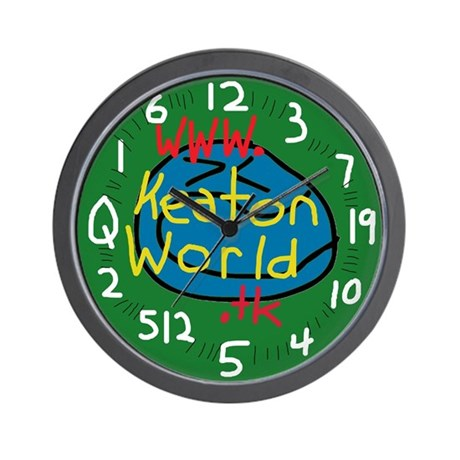 KEATON WORLD Clock