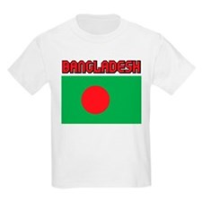 Bangladesh Flag Kids T-Shirt