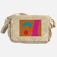 Gentle Orange Messenger Bag