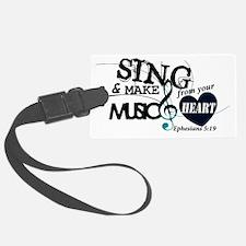 Sing4Christ Luggage Tag