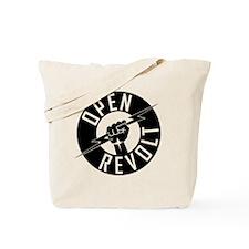 OpenReVoltLogo_black_on_clear Tote Bag