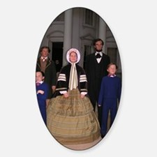 Lincoln Family Sticker (Oval)