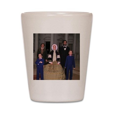 Lincoln Family Shot Glass