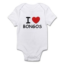 I love bongos Infant Bodysuit
