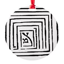sefirotonWhite Ornament