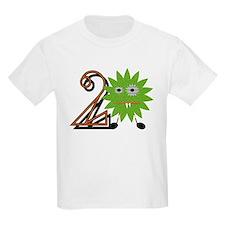 2nd Birthday Boy Monster T-Shirt