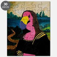 Mona Flamingo Puzzle
