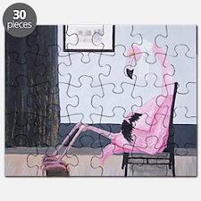 Whistlers Flamingo Puzzle