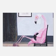 Whistlers Flamingo Postcards (Package of 8)