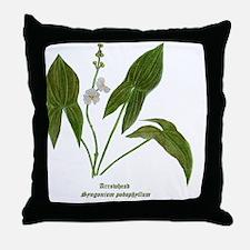 Arrowhead Plant Throw Pillow