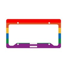 Equality License Plate Holder