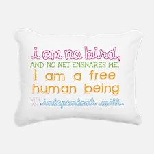 Eyre Shirt Rectangular Canvas Pillow
