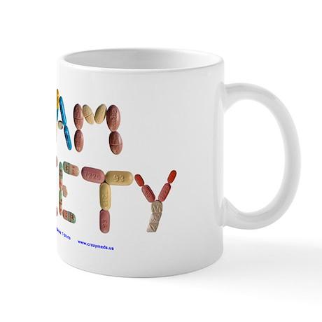 Team Anxiety Mug Mugs