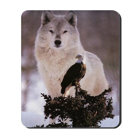 wolf-and-eagle 5 Mousepad