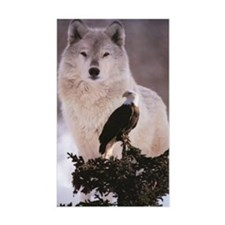 wolf-and-eagle 5 Decal