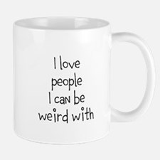 People To Be Weird With Mugs