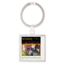 Cafepress Logo For Cruton Bey Square Keychain