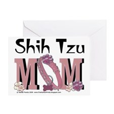 ShihTzuMom Greeting Card