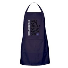 Oceanic six names Apron (dark)