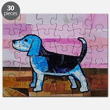 Blue Beagle Puzzle