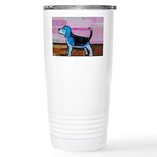 Blue Beagle Travel Mug