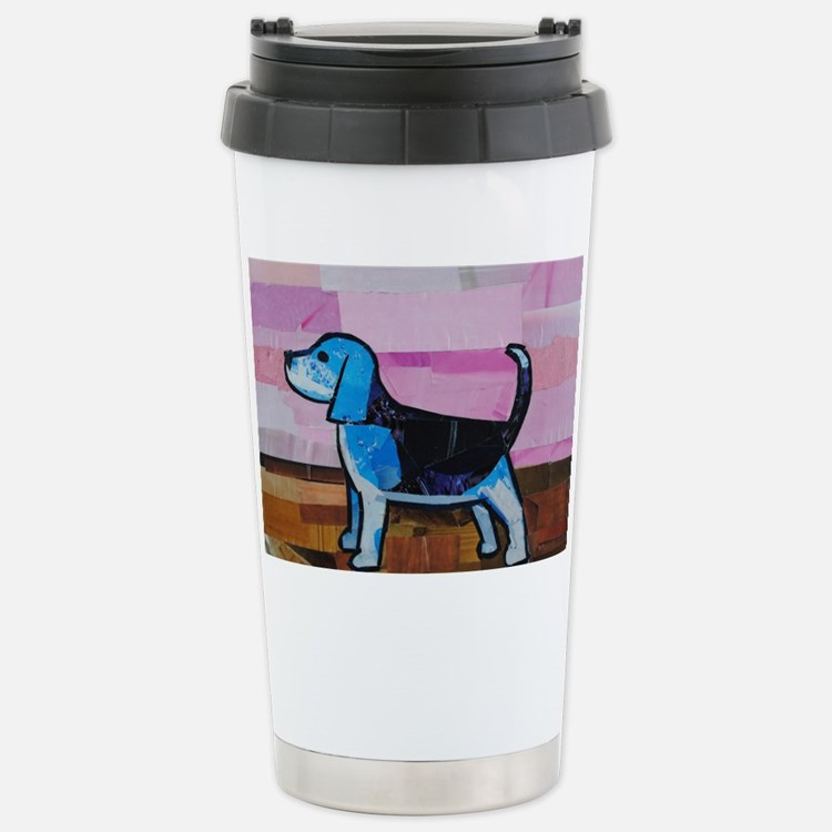 Blue Beagle Travel Mug