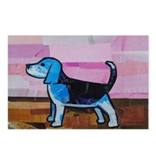 Blue Beagle Postcards (Package of 8)