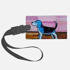 Blue Beagle Luggage Tag
