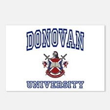 DONOVAN University Postcards (Package of 8)