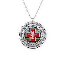 medmlogobig36w Necklace Circle Charm