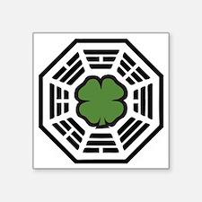 "dharmalucky Square Sticker 3"" x 3"""