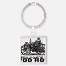too hot Square Keychain